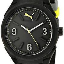 Puma Unisex Pu103592001 Gummy Analog Display Analog Quartz Black Watch Photo