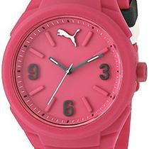 Puma Unisex Pu103592004 Gummy Analog Display Analog Quartz Pink Watch Photo