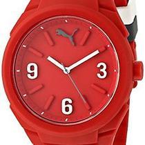 Puma Unisex Pu103592005 Gummy Analog Display Analog Quartz Red Watch Photo
