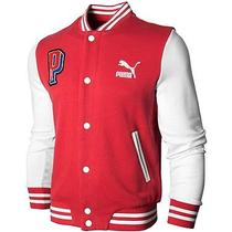 Puma Varsity Knitted Baseball College Jacket Photo