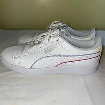 Puma Vikky V2 White Women's Shoes Size 7 Photo