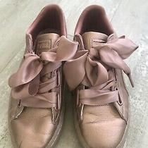 Puma Women Bow Blush Sneaker Shoe Size 8 Photo