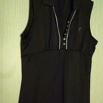 Puma Women's Cami Top Size 2xl Black With With Trim Photo