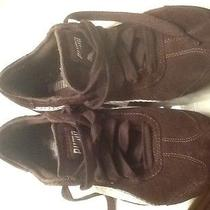 Puma Women's Sneakers Brown/white Size 7m Photo