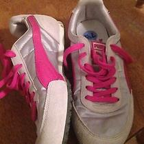 Puma Women's Sneakers Size 7.5 White/pink Photo