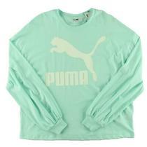 Puma Womens Blue Running Fitness Yoga T-Shirt Athletic M Bhfo 0109 Photo