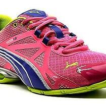 Puma Womens Voltaic 5 Pink/blu/green Lightweight Comfort Cross-Training Shoe Us8 Photo