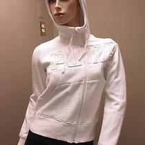 Puma Wooded White Sweater W Front Zipper Photo