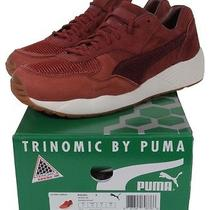 Puma X Brooklyn We Go Hard Xs-698 357033-04 Madder Brown Limited Photo