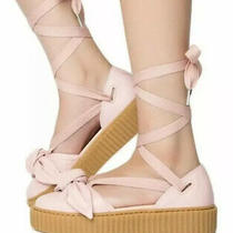 Puma X Fenty Ballerina Creeper Blush Pink Nwob Size 9.5 Photo