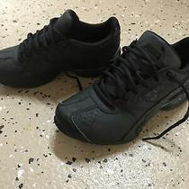 Puma Youth Boys Shoes Size 5 M Black Athletic Photo