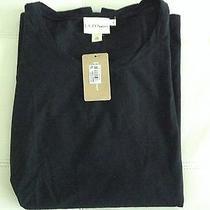 Pure Dkny Black T-Shirt Nwt 110 Photo