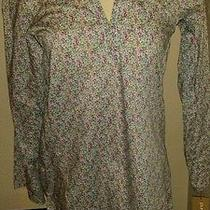 Pure Dkny Blouse Tunic Top 225 Photo
