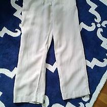 Pure Dkny Linen Pants / Trousers Photo