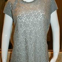 Pure Dkny - Retail 195.00 - Floral Lace Shirt Photo