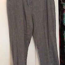 Pure Dkny Sz L Gray Cuffed Pants Photo