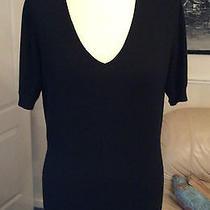 Pure Superfine 100% Cashmere  Black Jumper Size 14. Excellent Condition Photo