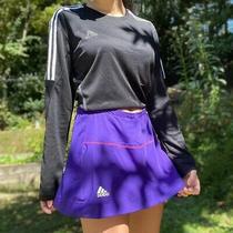 Purple Adidas Tennis Skirt Climacool Size M Photo