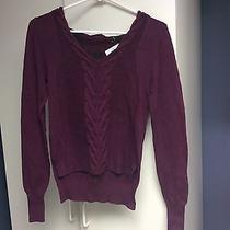 Purple Anthropology Sweater Photo