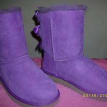 Purple Bailey Bow Uggs Photo