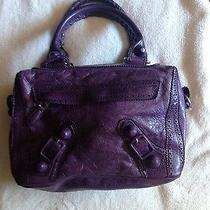 Purple Balenciaga Purse for Sale Photo