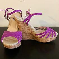 Purple Charlotte Russe Wedges - Size 6 Photo