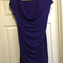Purple Chiffon Dress Size Large Photo