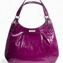 Purple Coach Bag  Photo