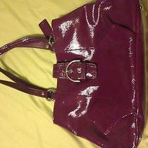 Purple Coach Bag- Large Photo
