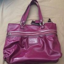 Purple Coach Poppy Handbag Photo