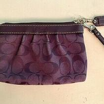 Purple Coach Wristlet Photo