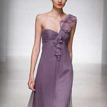 Purple Cocktail Amsale Dress Photo