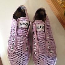Purple Converse Shoes Photo