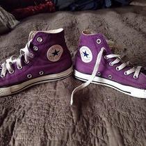 Purple Converse Size 2 Photo