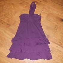 Purple Express Dress Size M Photo