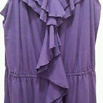 Purple Express Ruffle Dress Photo