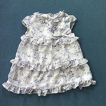 Purple Floral Dress Size 6-9 Months Baby Girl Koala Baby Boutique Photo