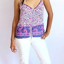 Purple Floral Summer Top Photo