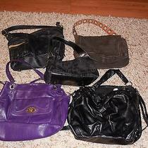 Purple Franco Sarto Bag Lot of Other Handbags Roxy Fossil Liz and Limited Photo