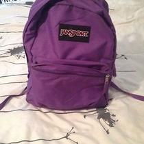 Purple Jansport Backpack Photo