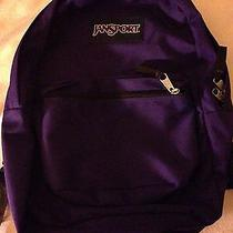 Purple Jansport Backpack Photo