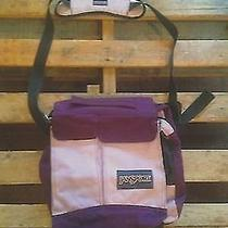 Purple Jansport Messenger Tote Photo