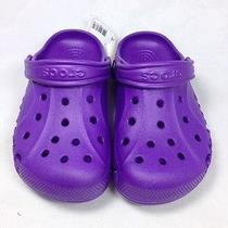 Purple Juniors Crocs  Photo