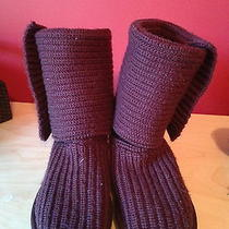 Purple Knit Uggs   Photo