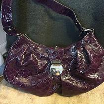 Purple Leather Guess Purse Photo