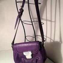 Purple Nicole Miller Fun Crossbody Bag Photo