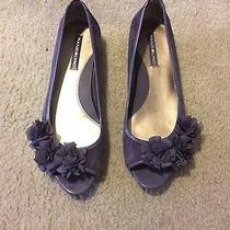 Purple Peeptoe Flats Photo