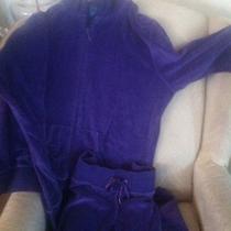 Purple Reebok Jogging Suit Photo