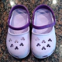 Purple Size 10/11 Mickey Mouse Crocs Photo