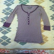 Purple Striped Blouse Photo